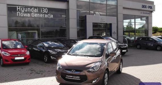 Hyundai ix20 1,4 MPI benzyna (90KM) wersja Classic Plus http://hyundai.lubin.pl/oferta/ix20-2014r/16