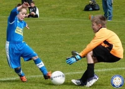 Photography from the Youth Football Scotland website, providing the best images from grass roots football across the country.