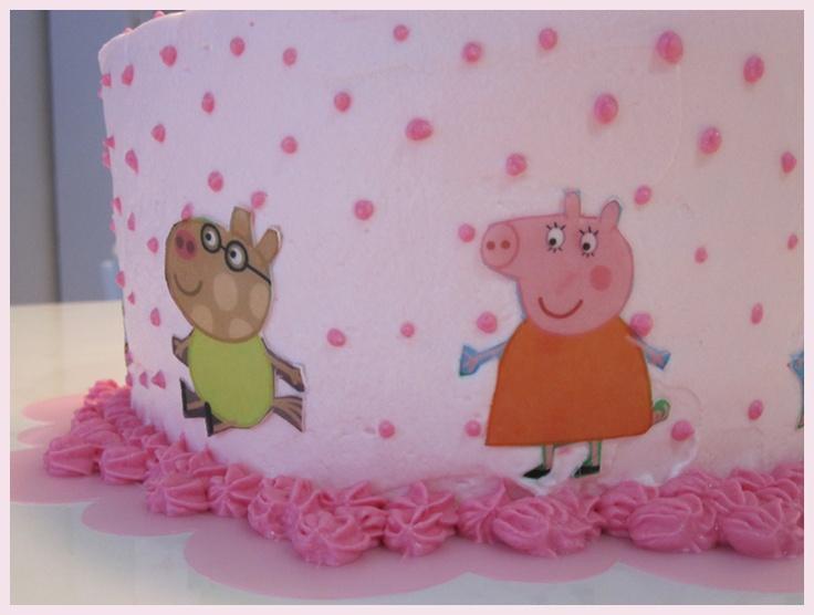 Peepa Pig Layer Cake