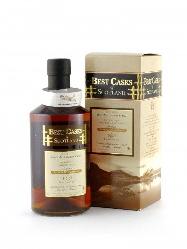 Mortlach 21 Jahre 1991 Best Casks of Scotland, 46%