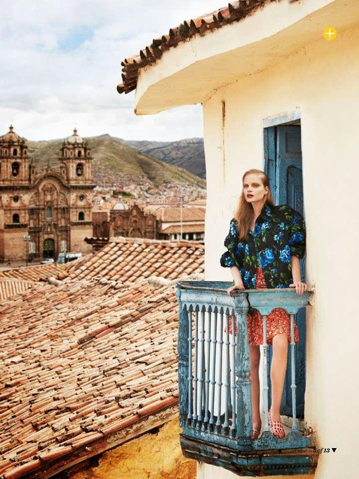 Fashion, Marie Claire Australia, Cuzco, magazine, Perú , Photography