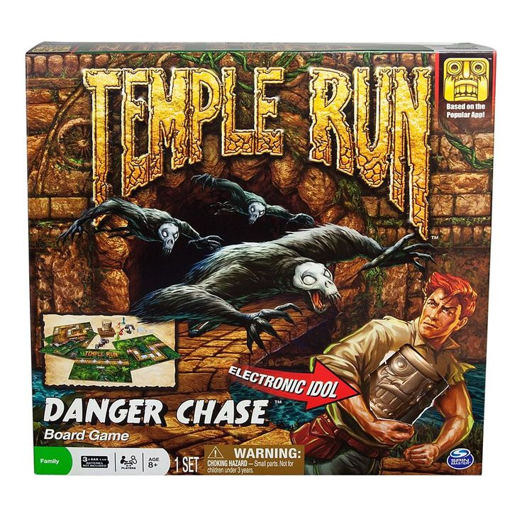 Spin Master Temple Run Board Game Board games, Temple