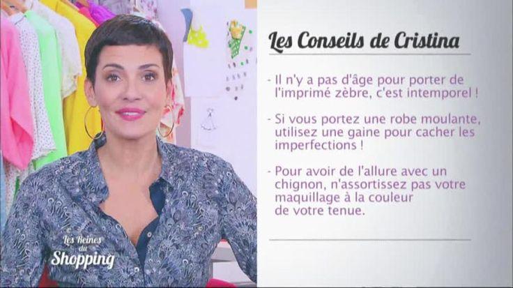 Cristina Cordula nous livre ses astuces pour être moderne même à 60 ans, comme la candidate du jour. La styliste recommande notamment l'imprimé zèbre qui est intemporel et le port de la gaine qui permet de cacher les imperfections. Retrouvez Les reines du shopping sur M6.