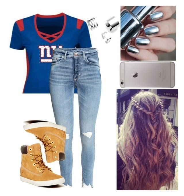 """""""Heading  To A Football Game Tomorrow 🤑🤑🤑"""" by little-lost-girl ❤ liked on Polyvore featuring Timberland"""