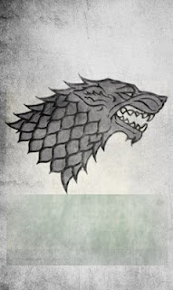 Logo of House Stark. Winter is coming! #gameofthrones
