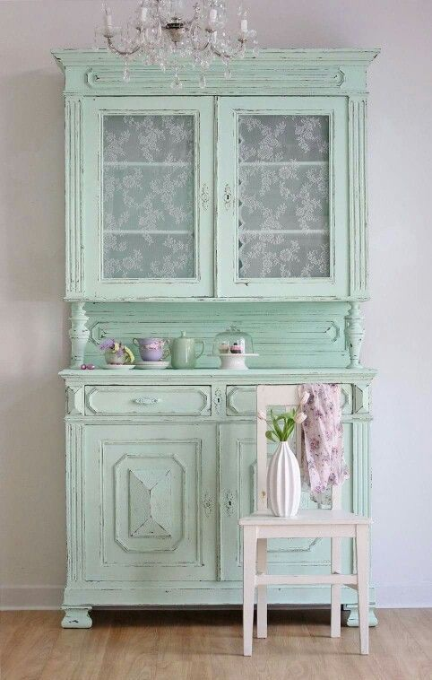 25 best ideas about shabby chic cabinet on pinterest - Muebles shabby chic ...