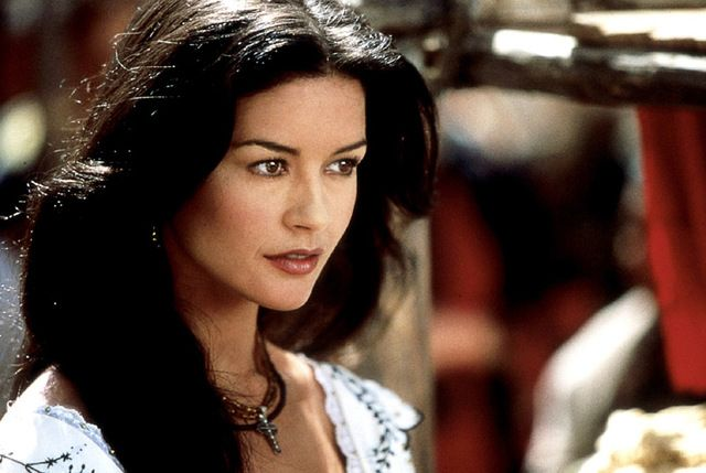 Does it really get more gorgeous than Catherine Zeta Jones in Zorro?