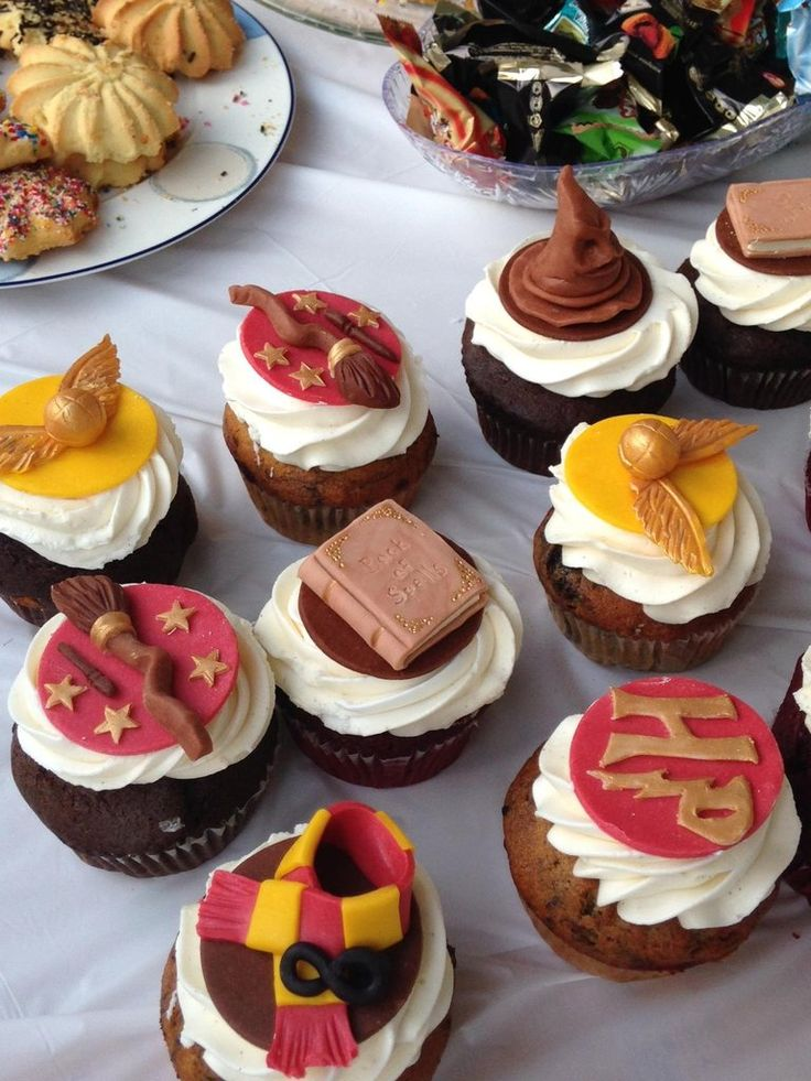 Harry Potter Themed Cupcakes For My Engagement Party