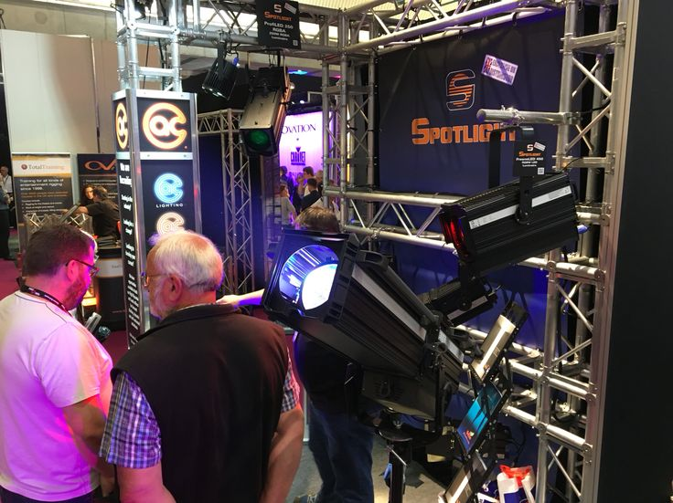 The LED 450W Range at the ABTT 2016