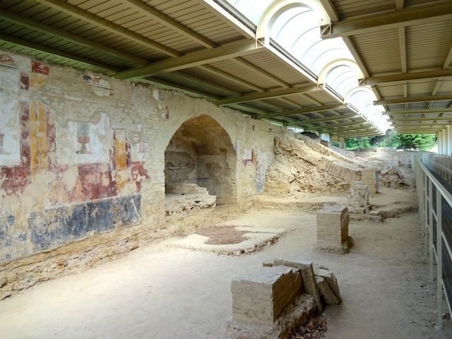 Sanctuary complex of the Archaeological park Urbisaglia