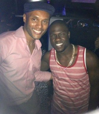 Kenny Lattimore and Kevin Hart