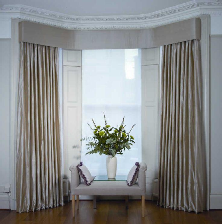 Bedroom Bay Window Treatments