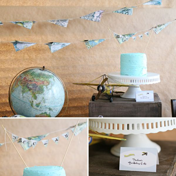 Vintage Airplane Birthday Party Airplane Baby Shower: 17 Best Ideas About Airplane Birthday Cakes On Pinterest