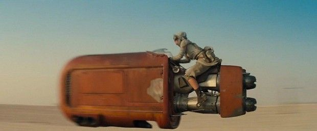Star Wars 7 Trailer Photo Tatooine Speeder 1024x426 Star Wars 7 Trailer Analysis: A Closer Look At The Visuals & Story