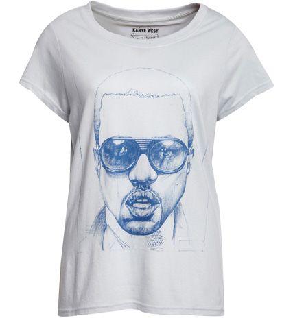 T-shirt Femme Kanye West Eleven Paris. #tshirt #kanyewest #elevenparis