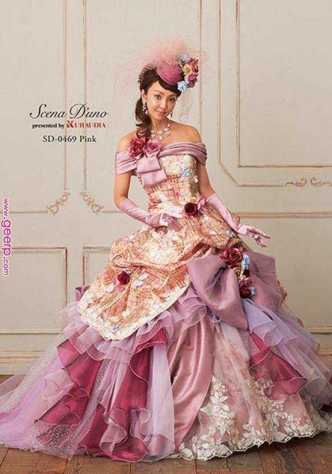 芸能人ドレス|神田うの 【シェーナ・ドゥーノ】|成人式の振袖