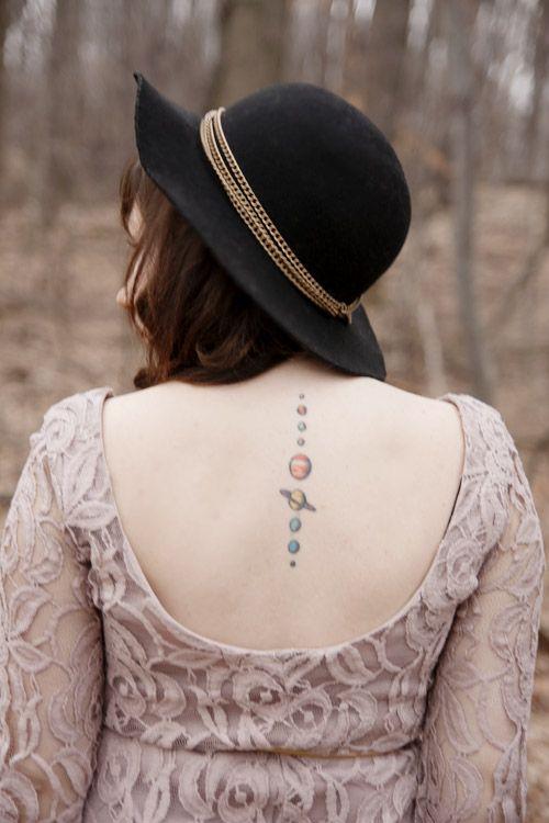 Planets tattoo!