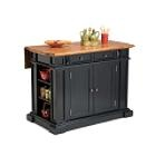 I really want to get this for our kitchen...I am thinking black (although our cabinets are oak) because I don't really love our cabinet color and probably wouldn't even be able to find one that matched up well.