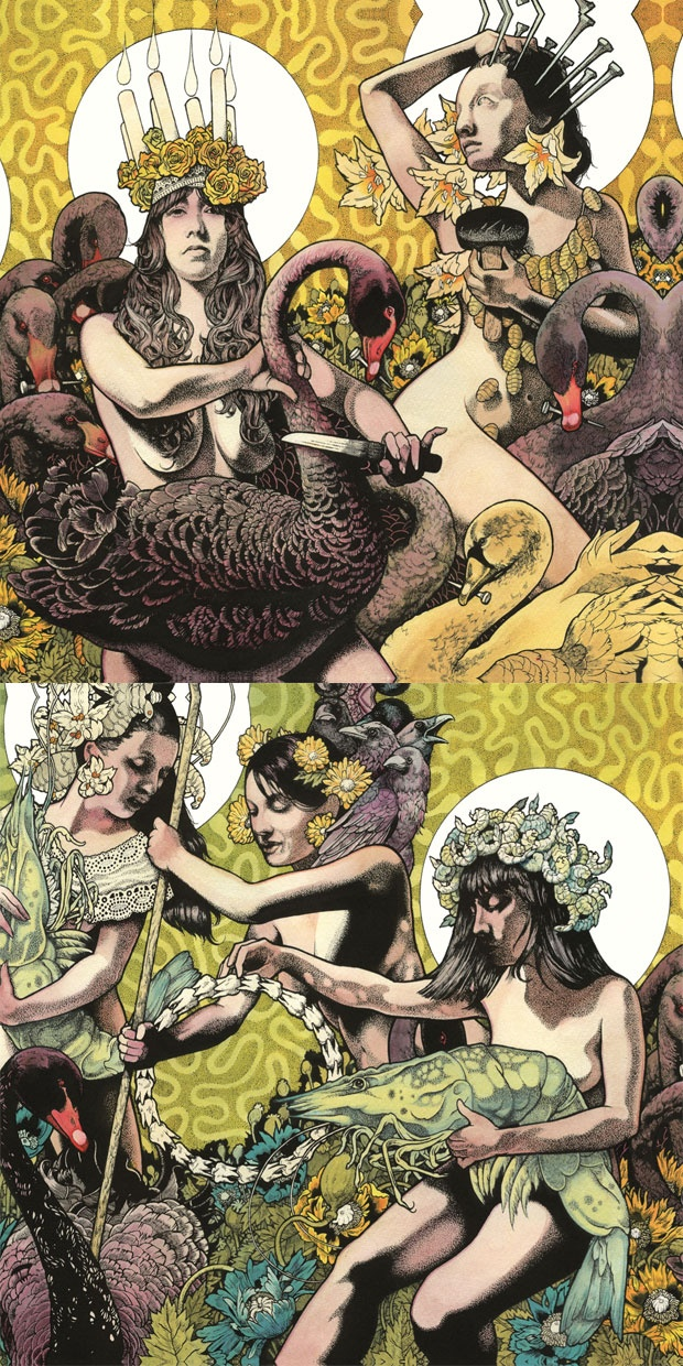 Baroness – Yellow and Green