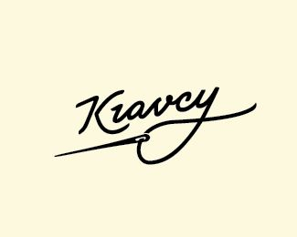 Alteranative version of logo for street wear brand - Kravcy (Tailors in english)