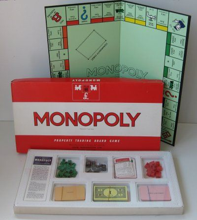 Monopoly, it comes out every Chrimbo!