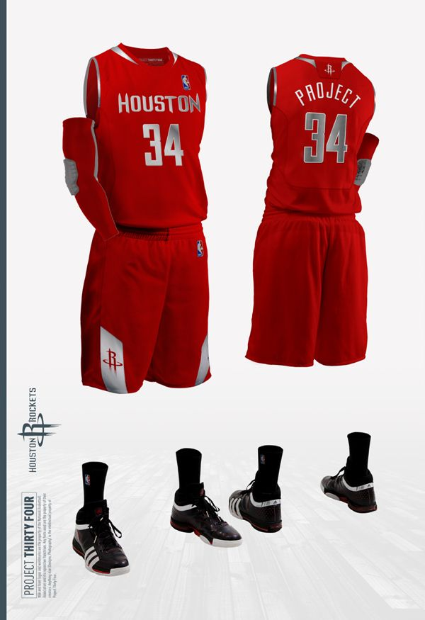 Houston Rockets Jersey Concept  87a65ce78