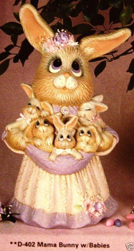 Mama Bunny with babies