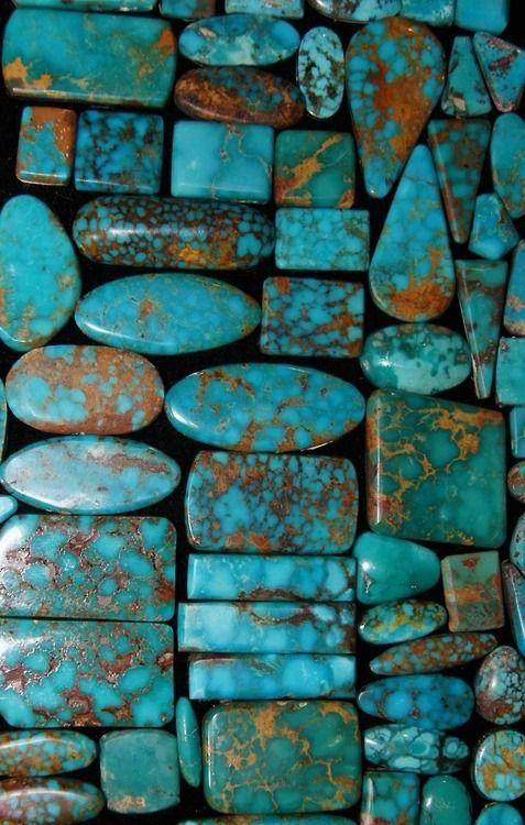 Blue Gem Nevada Turquoise