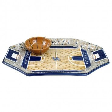 Louisville Stoneware's University of Kentucky Basketball Chip & Dip Set....KY PROUD!!!!