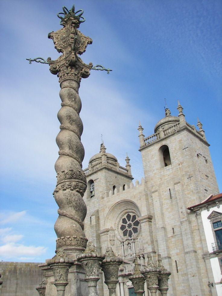 Catedral de Oporto (Sé de Porto en portugués) #portugal #oporto