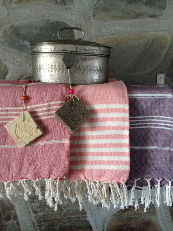Beautiful hamam towels or peshtamals