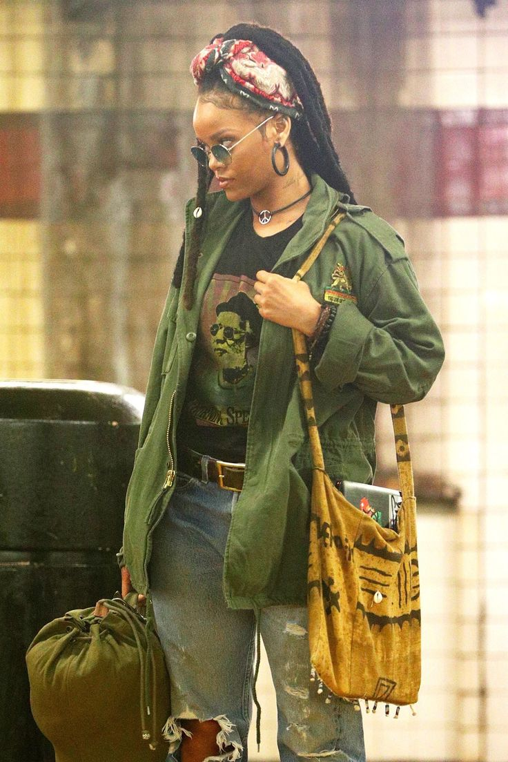 Rihanna looks