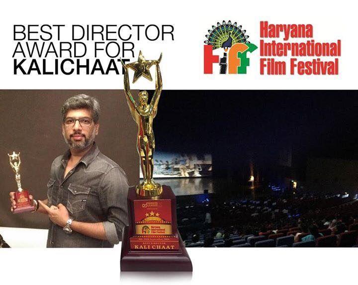 Kalichaat :- Haryana International Film Festival Announces 'Sudhanshu Sharma' as the Best Director for 'Kalichaat'