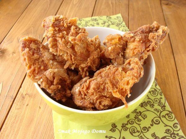 Smak Mojego Domu: Skrzydełka a'la KFC