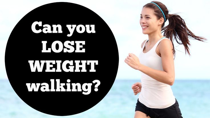 can you lose weight just by walking everyday