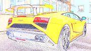 "New artwork for sale! - "" Lamborghini  Gallardo  Lp 570  by PixBreak Art "" - http://ift.tt/2l0jpCK"