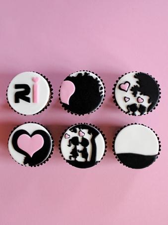 siluetas cupcakes