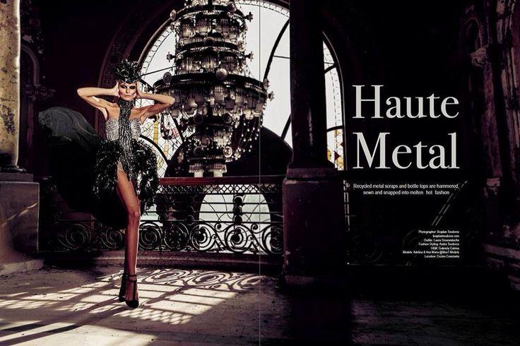 Fashion editorial for Eluxe Magazine done in Constanta City/Romania by photographer Bogdan Teodorov www.bogdanteodorov.com