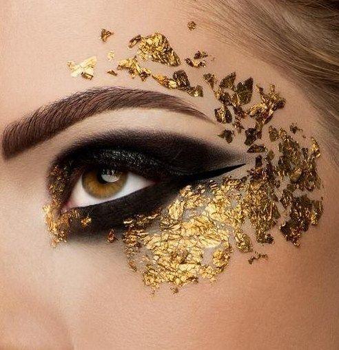 So Gold! #makeup #eyemakeup #gold