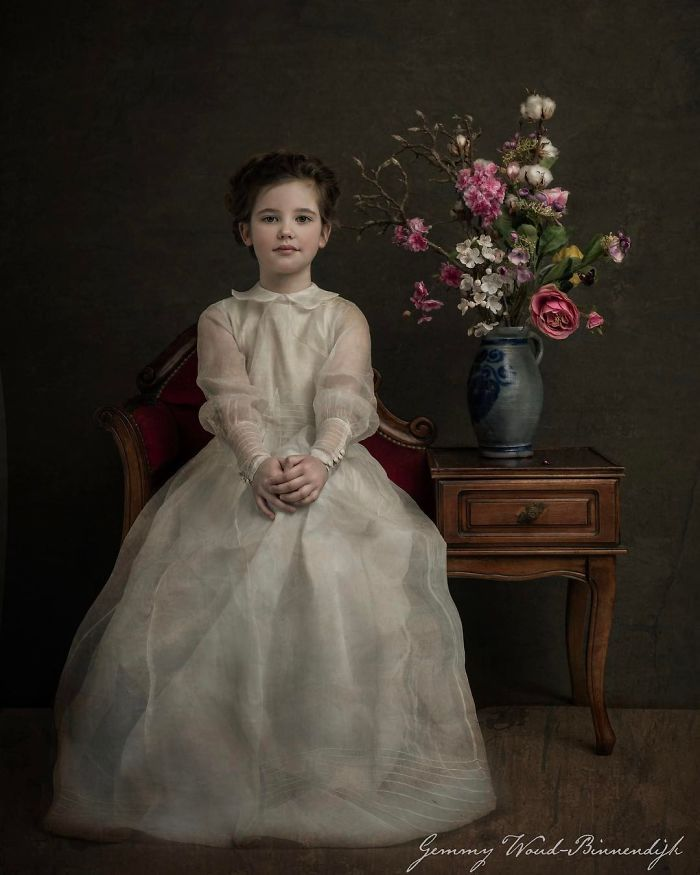 Photographer Creates Beautiful Photographs That Look More Like Old Paintings Kids Portraits Photography Art Photography Portrait Colorful Portrait Photography