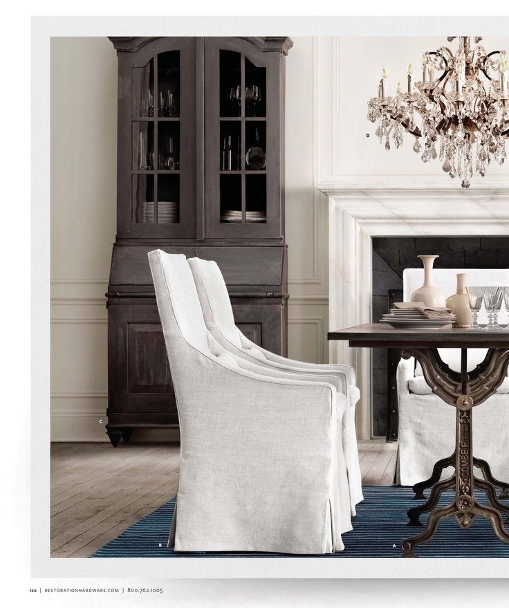 Find This Pin And More On Restoration Hardware Dining Room