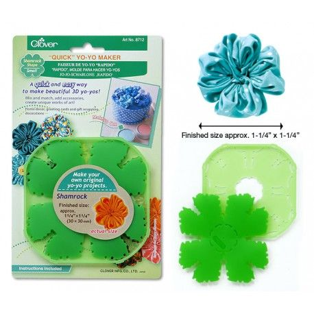 Make beautiful 3D Shamrock Shapes the quick and easy way! Perfect for St. Patrick's Day