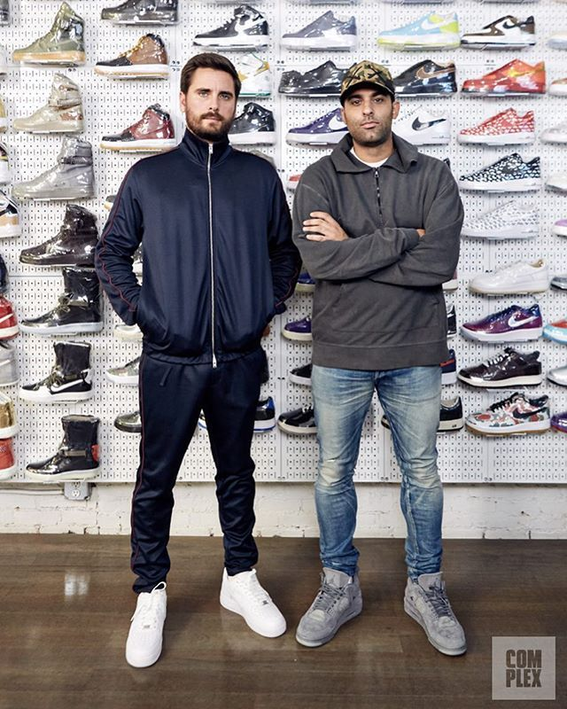 """We linked up with reality star Scott Disick for a rare interview in NYC on a brand new episode of """"Sneaker Shopping."""" LINK IN BIO.  @upnup via COMPLEX MAGAZINE OFFICIAL INSTAGRAM - Fashion Campaigns  Culture  Advertising  Editorial Photography  Magazine Cover Designs  Supermodels  Runway Models"""