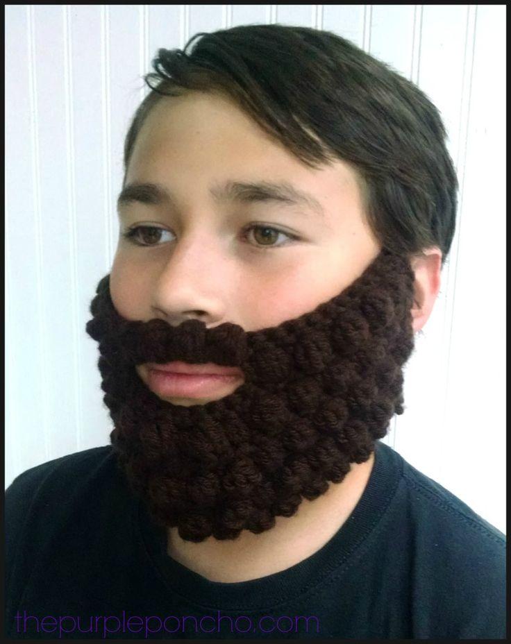 Crochet Bobble Beard Review Free Pattern Crochet Beard