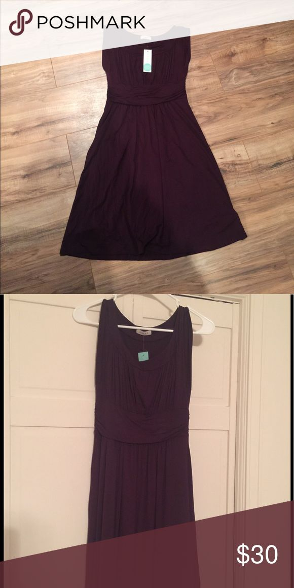 Gilli Plum Colored Dress So pretty! Slouchy fabric - knit - super soft - never been worn. NWT. Has lining in bottom skirt part. Dresses