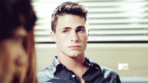"""One time he did this cute thing with his eyebrow. 