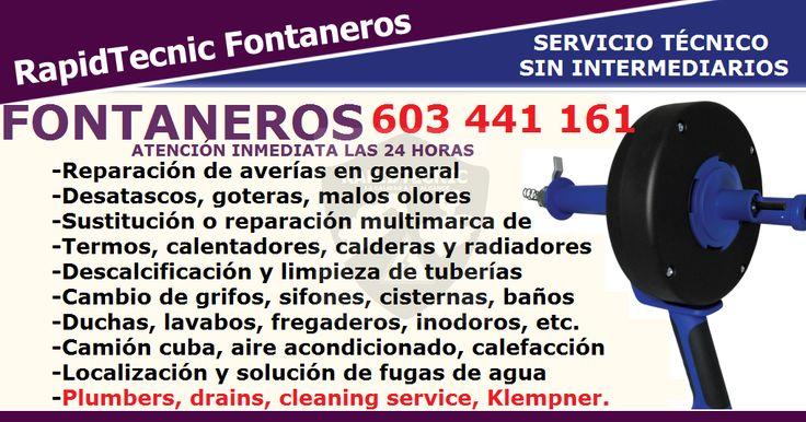 Mejores 639 im genes de anuncios de cerrajeros fontaneros - Fontaneros en tenerife ...