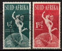 Universal postal union 1949 stamp South Africa