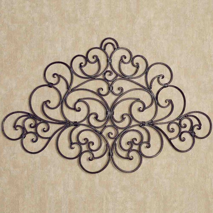 20 best L.I.H. 51 Wrought Iron Wall Decor images on Pinterest ... - wrought iron wall designs