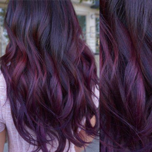 15 Best Maroon Hair Color Ideas Dark Black Maroon Hair Colors Hair Color Plum Plum Hair